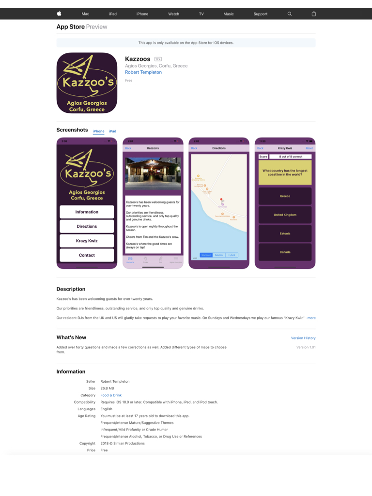 Kazzoos We have an App - Aug 2018 001 - simian-productions com